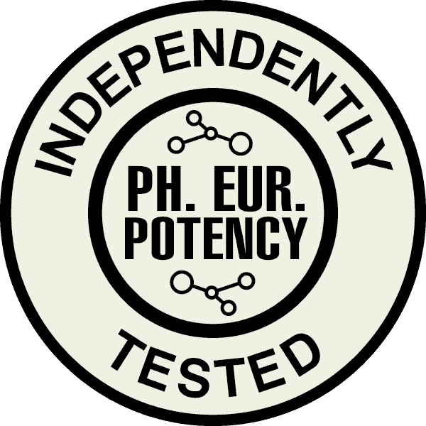 Product Certificate Ph.Eur. Potency